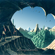 "CD-cover for ""The Quest"""