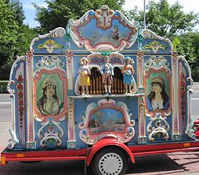 Street-organ The Columbus